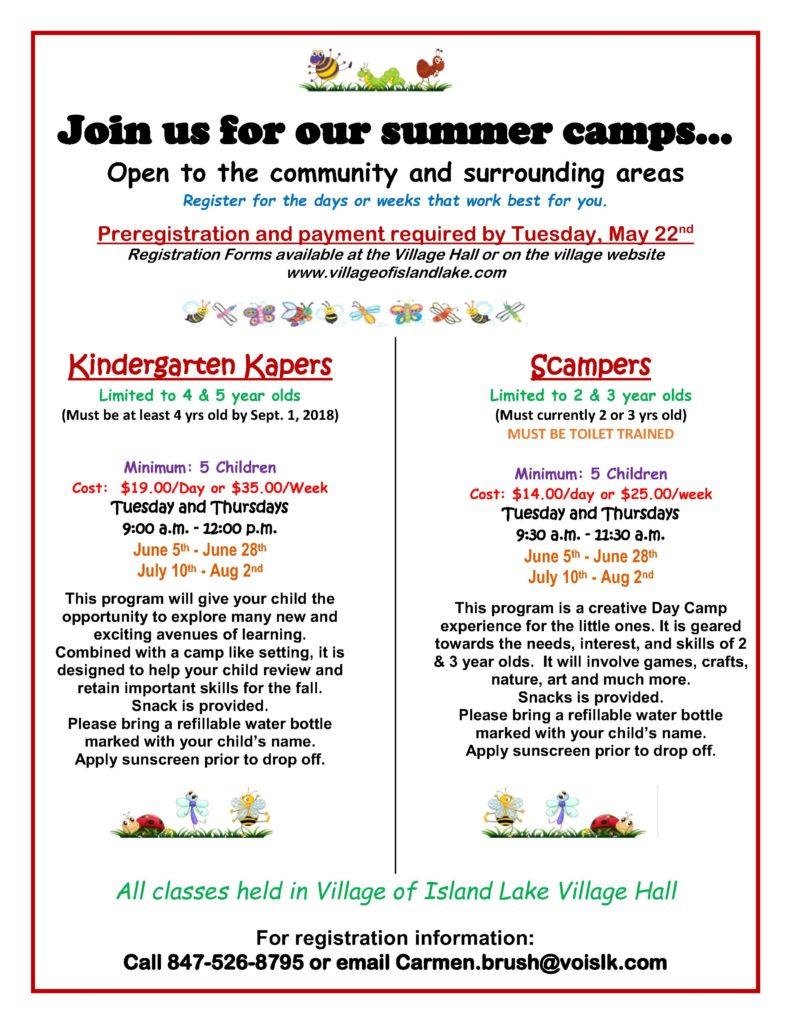 Kindergarten Kapers Scampers FB