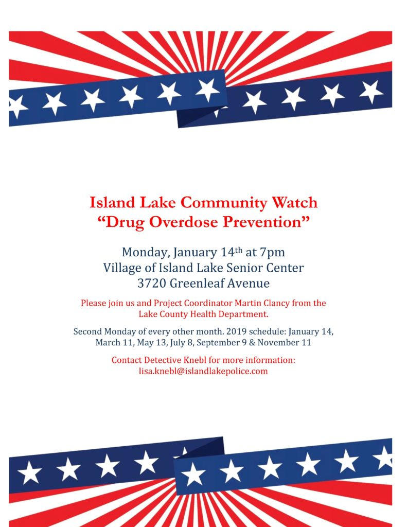 Community Watch Flyer January 2019