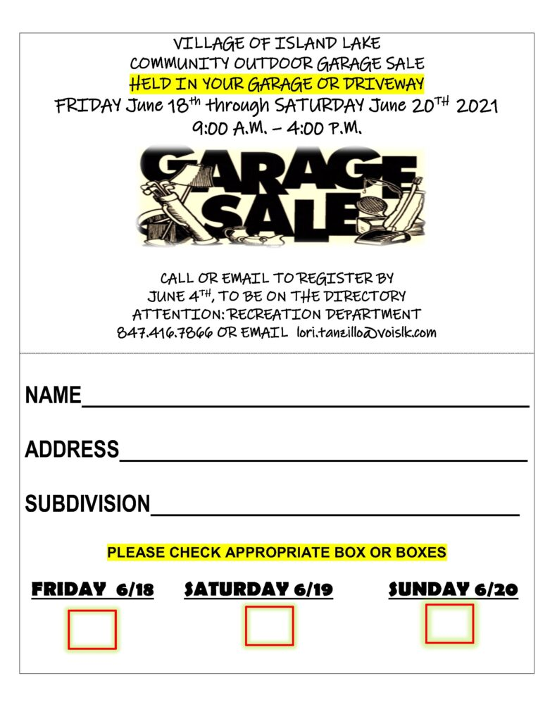 Garage Sale Flier 2021_1